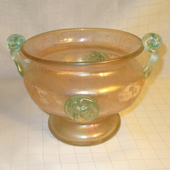 Venetian modern era bowl. - Art Glass
