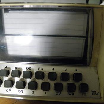 telephone Index