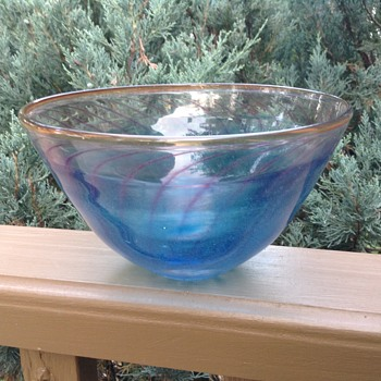 59061 glass bowl - Art Glass