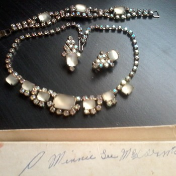 P Minnie L McCormick  - Costume Jewelry