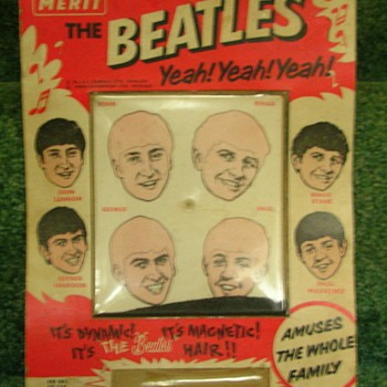 Beatles Magnetic Hair game