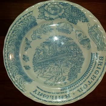 "Help with Ironstone Stafford Pottery ""sample/test plate"" - China and Dinnerware"