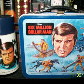 Six Million Dollar Man Lunchbox - Kitchen