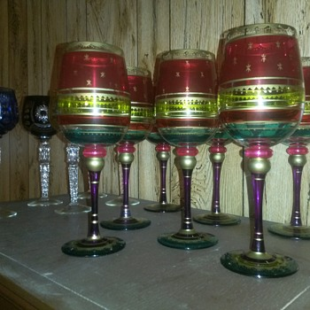 Vintage Stem Ware - Glassware