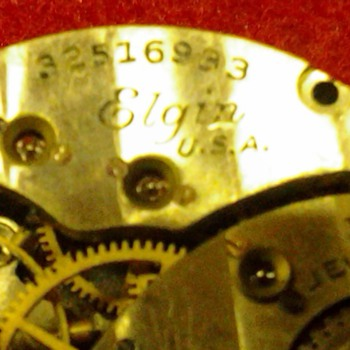 old elgin wristwatch