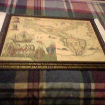THE NEW WORLD LITHOGRAPH