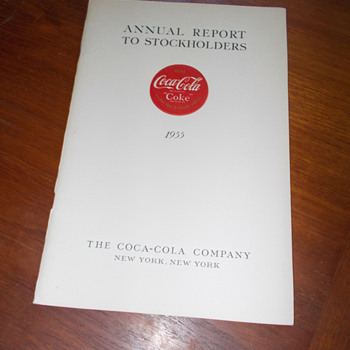 1955 Coca-Cola Annual Report