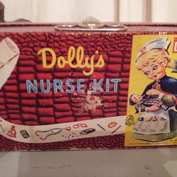 Hasbro  Dolly's Nurse Kit  No.1720 1950's