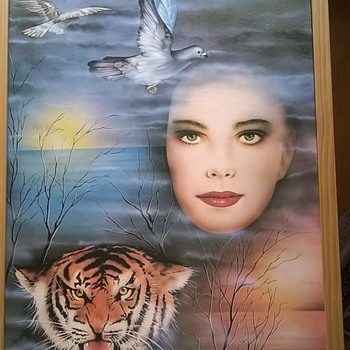 Large Poster From A Flea Market...