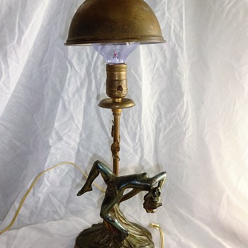Metal Deco Lamp