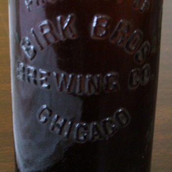 Illinois and Wiscosin beer bottles  
