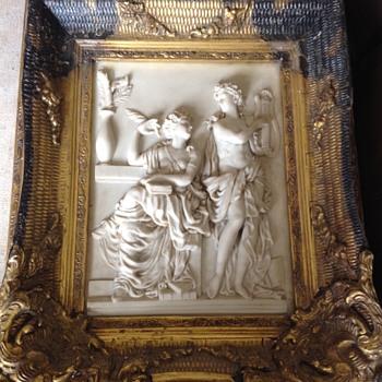 Marble plaque - Visual Art
