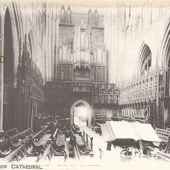 "CHOIR, RIPON CATHEDRAL ""AUTY SERIES"" G.H., W.B.  1271. - Postcards"