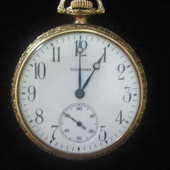 Vintage Illinois Pocket Watch - Pocket Watches