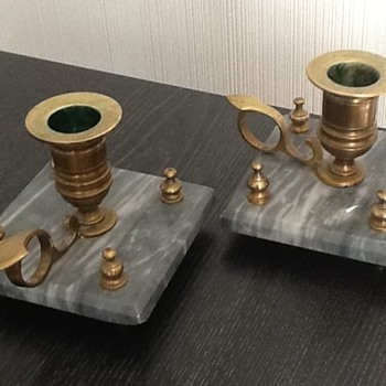 Marple base candlestick