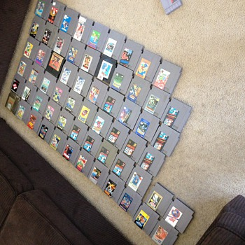 Rare 50 NES games, 11 Super Nintendo and 11 nintendo 64 games