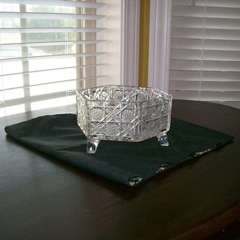 My great-grandmother's cut glass bowl! - Glassware