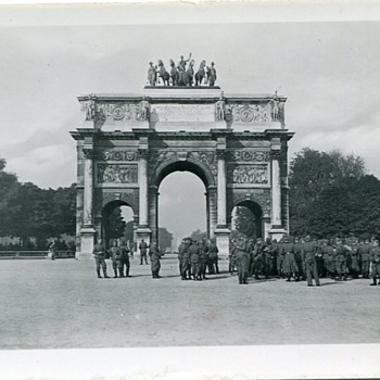 German Army in Paris WWII - Military and Wartime