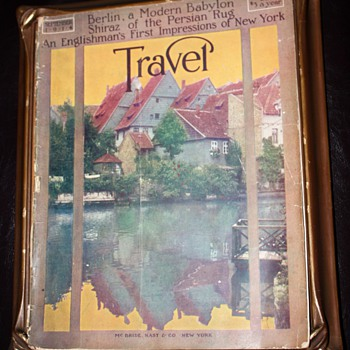 1914 Travel Magazine - precursor to Conde Nast - Paper