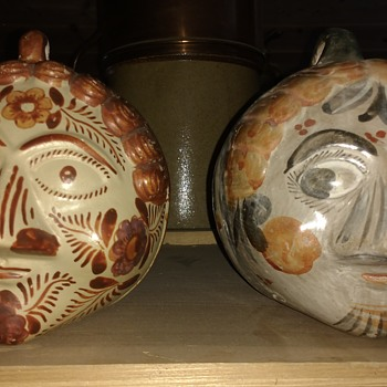 Tonala HeadHunter - Art Pottery