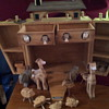 adorable wooden noahs ark