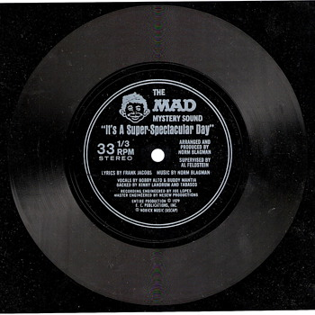 Mad Magazine Record - The Mad Mystery Sound