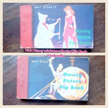 "Disney Movie ""Cinderella"" Flip Book - Books"