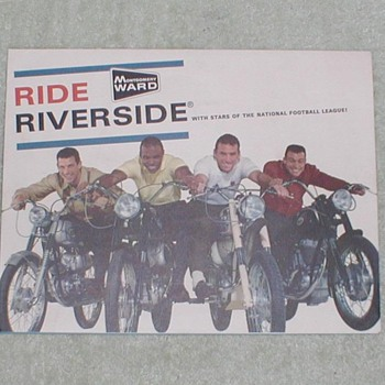 Montgomery Wards Riverside Poster - Advertising