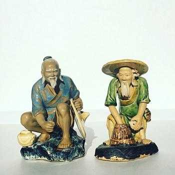 Vintage Chinese Mudmen