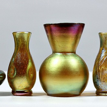 Glass miniatures plus one - Art Glass