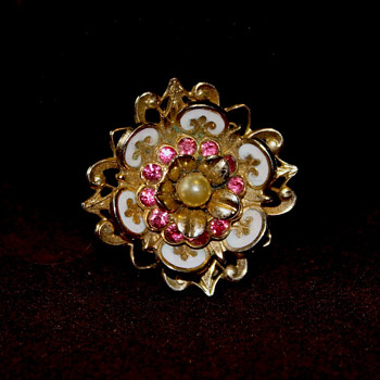 Signed Coro Pin - Costume Jewelry