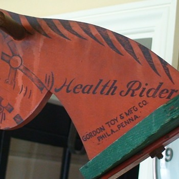 Health Rider Horse by Gordon Philadelphia PA