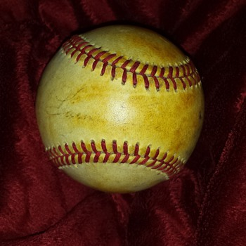 Unknown Autographed Baseball? - Baseball