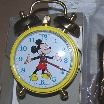 1969 Phinney Walker Mickey Mouse Alarm Clock