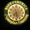 "21"" Bank Of America original neon clock"