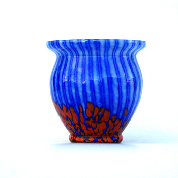 WELZ Stripes and Spots Vase