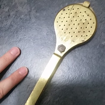 Help identify unusual brass tool