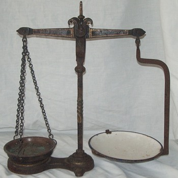 FAIRBANKS OF BIMINGHAM LATE 1800'S SCALES  - Tools and Hardware