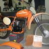 1977 MX250 Harley Davidson Motorcycle