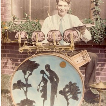 1930s Drummer and Girlfriend