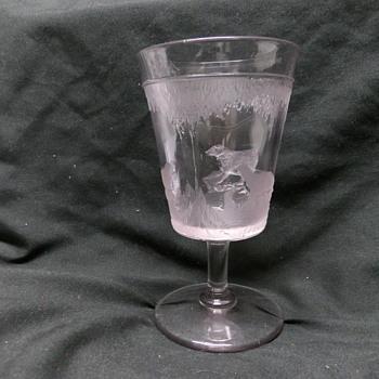 Polar Bear EAPG Goblet - Glassware