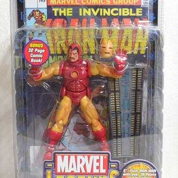 Iron Man Action Figure ~ Series 1 - Toys
