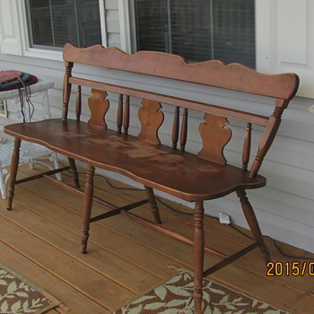 Deacons Bench - Furniture