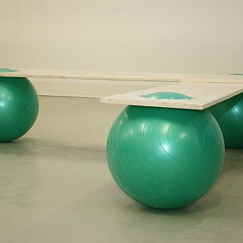 funny ball banch by Manfred Kielnhofer - Furniture