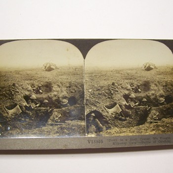 TO JSCOTT AND SCOTTV GRAPHIC WWI AND BAR STEREO VIEWS