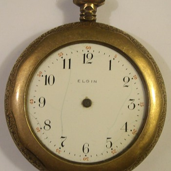 Two Early 1900's Gold Watches - Pocket Watches