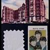 Beatles bedsheet swatch-1966