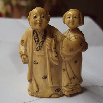 Ivory Netsuke - Asian