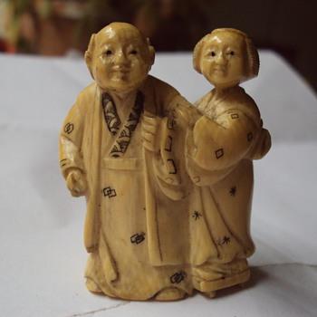 Ivory Netsuke - Asian