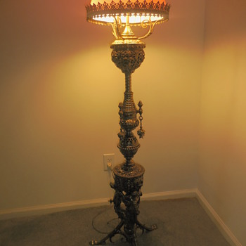 Vintage Floor Lamp - German?